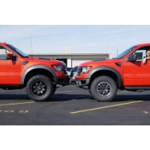 Traxda kit 105011 2010 2014 ford f150 svt raptor 2 quot front level kit coil over suspension