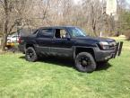 "2002 Chevy Avalanche 2500 with 35"" Nitto Mud Grapplers on 17"" Ballistic Rims"